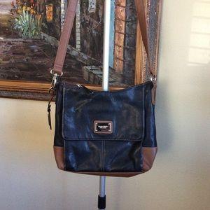 Tignanelo Leather Crossbody Bag